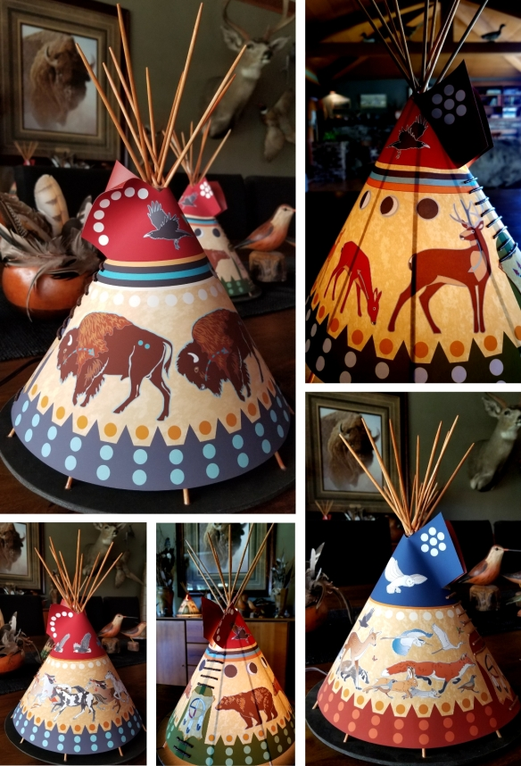 Tipi Accent Lamps